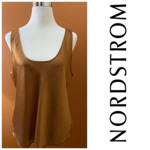 100% Silk Shell in Bronze